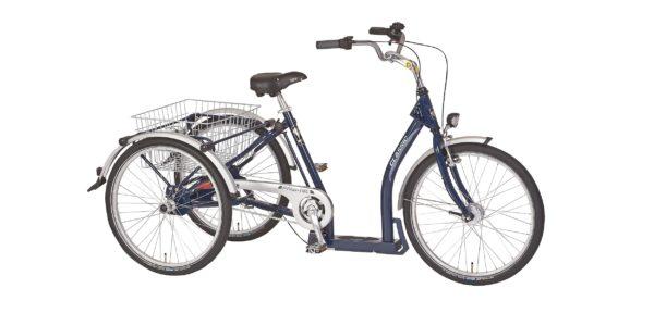 Trehjulet cykel med 2 baghjul - Elegance