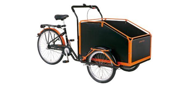 Trehjulet cykel med lad