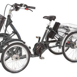 Den firehjulet elcykel med vare nr. PF15175